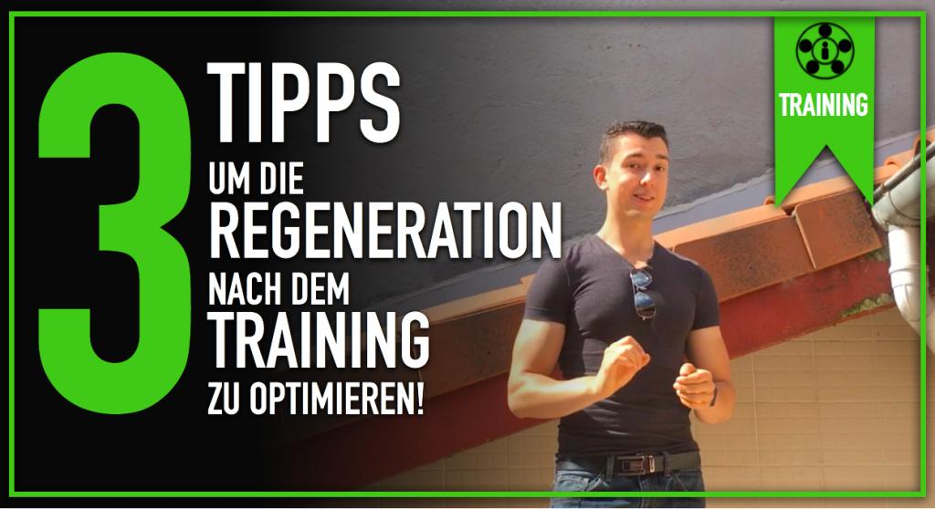 Regeneration nach dem Training