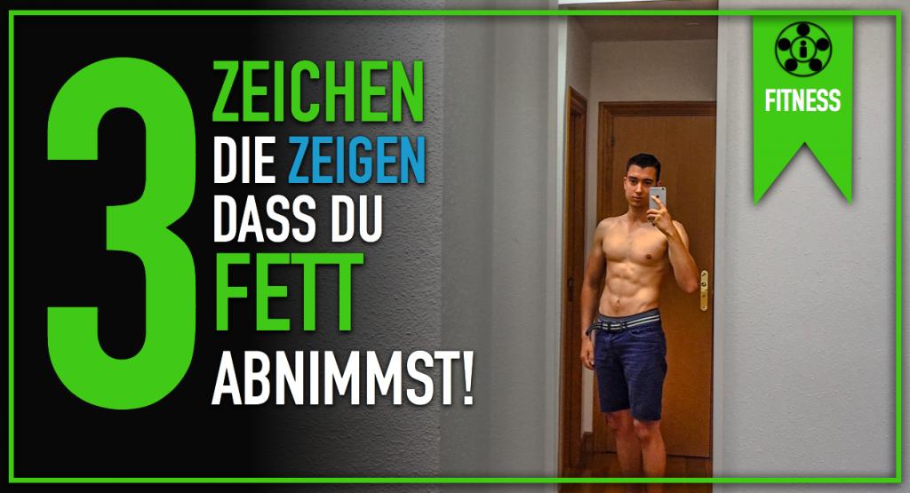 3 Zeichen die zeigen, dass du Fett abnimmst!