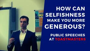 Wie kann Selbstzentriertheit einen Menschen großzügiger machen?
