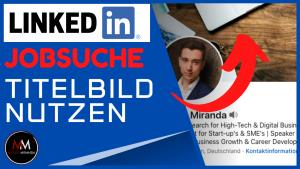 LinkedIn Hintergrundbild für die Jobsuche